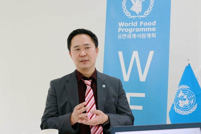 Lim Hyoung-joon, head of the United Nations World Food Program's Seoul office. (WFP)