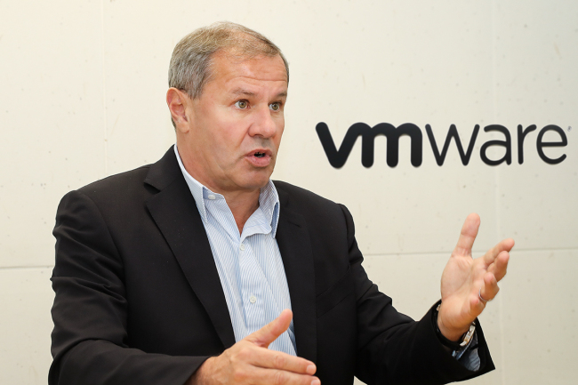 VMware's Executive Vice President of Worldwide Sales Maurizio Carli (VMware Korea)