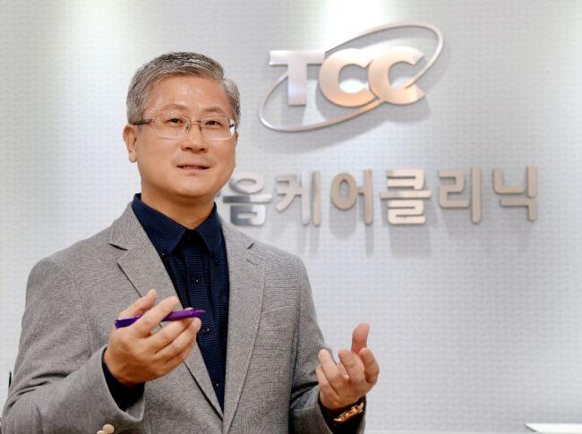 Kim Seong, head of Korea Sex Addiction Psychotherapy Association (Park Hyun-koo/The Korea Herald)