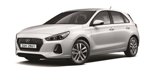 Hyundai Motor Co.`s new i30 hatchback is shown in this photo provided courtesy of Hyundai. (Yonhap)