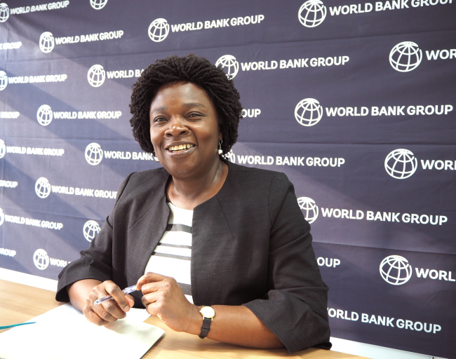 Victoria Kwakwa, World Bank regional vice president of East Asia and the Pacific (Joel Lee/The Korea Herald)