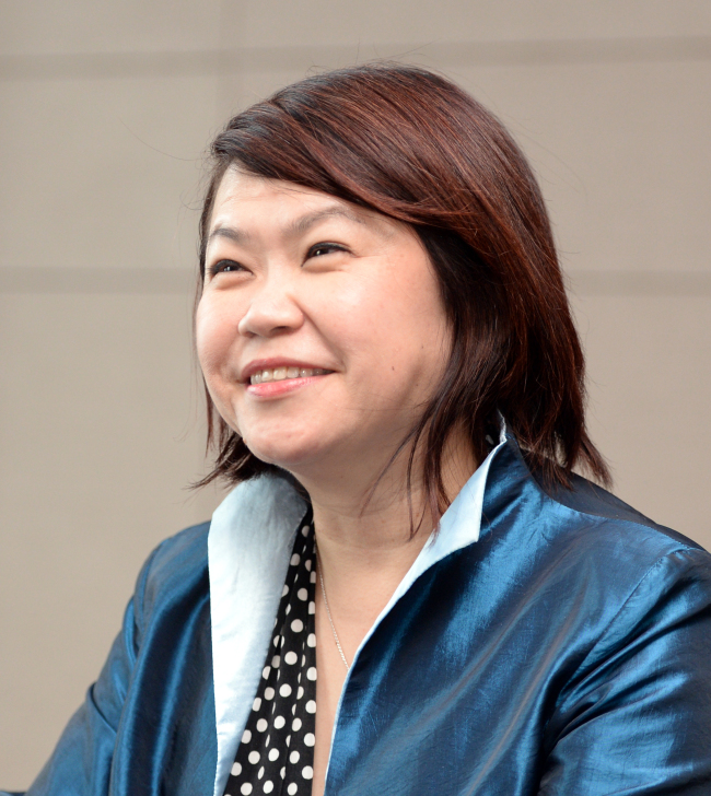 Social Innovation Park President Penny Low (Park Hyun-koo/The Korea Herald)