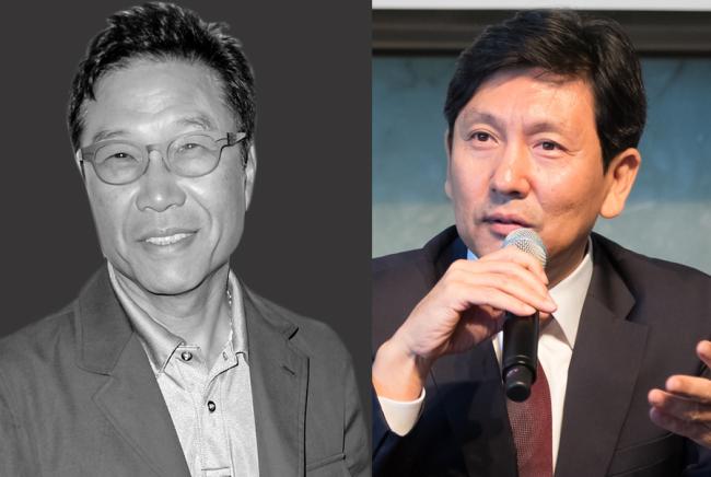 (Left) Lee Soo-man (Variety), Jeong Tae-sung (CJ Entertainment)
