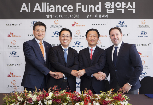 Element AI launches $57 million AI fund with SK Telecom, Hyundai