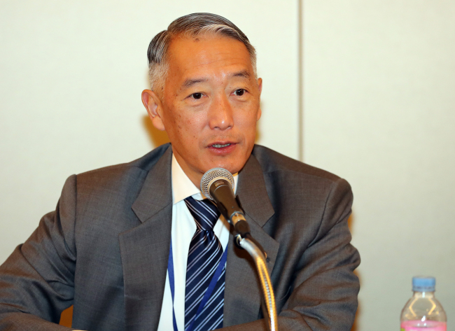 IVI Secretary-General Jerome Kim (IVI)
