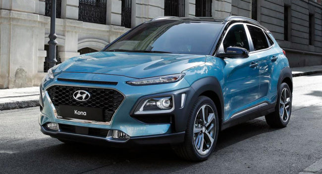 Hyundai announces crossover onslaught starting with Kona — Surf's up