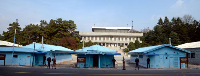 Joint Security Area. Park Hyun-koo/The Korea Herald