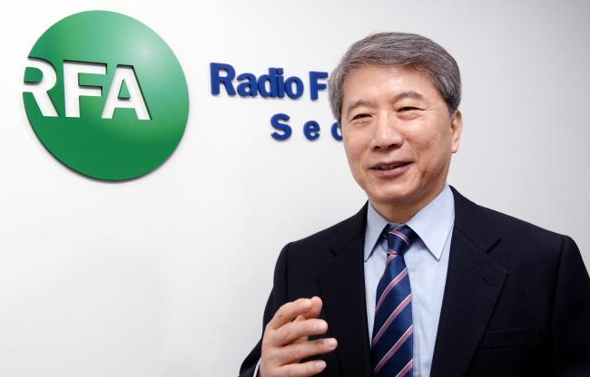 Oh Joong-sok, Seoul bureau chief of Radio Free Asia (Park Hyun-koo / The Korea Herald)