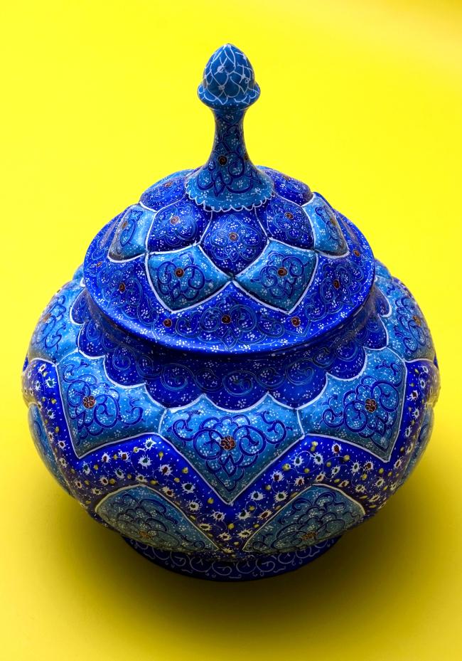 Traditional Iranian pottery (Iranian Embassy)