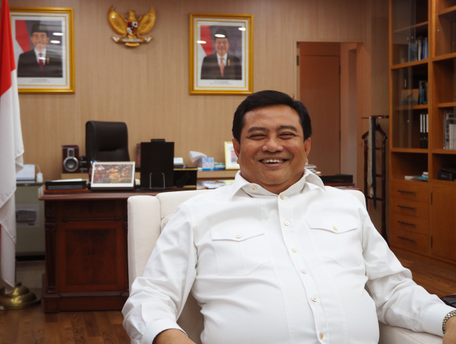 Indonesian Ambassador to Korea Umar Hadi (Joel Lee/The Korea Herald)