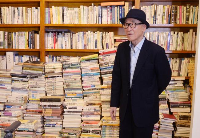 Ko Un (Park Hyun-koo/The Korea Herald)
