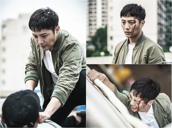 "Jin Goo stars in ""Untouchable."" (JTBC)"