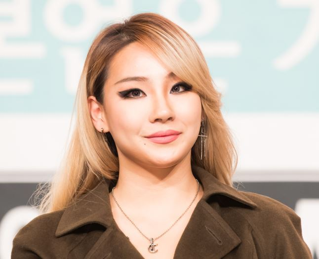 """CL attends a press conference for new reality show """"Livin' the Double Life"""" in Yeongdeungpo-gu, Seoul on Wednesday. (CJ E&M)"""