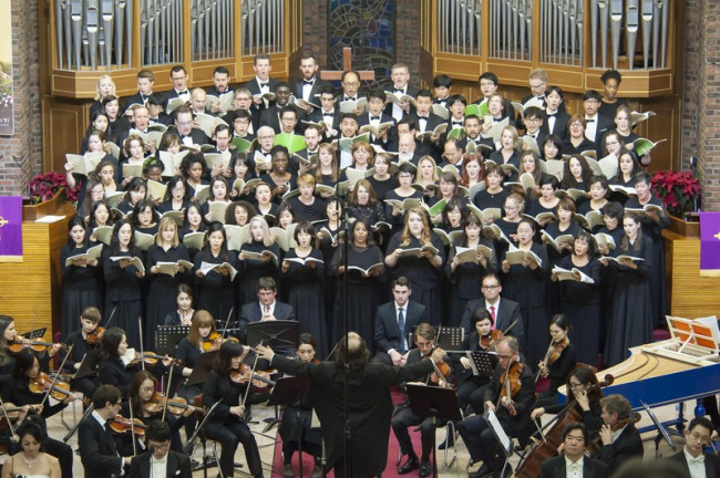 The Camarata Chorale and Orchestra