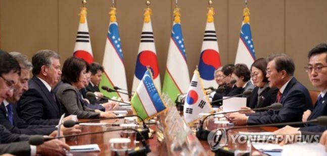 Korea agrees to provide $2.5b worth of support to Uzbekistan