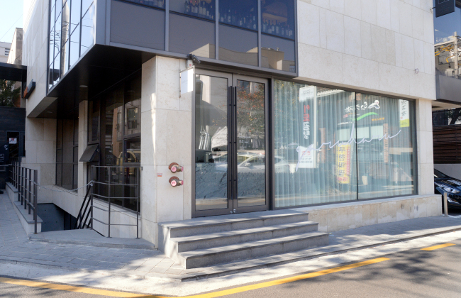 Patisserie by Garuharu opened in Yeoksam-dong, Seoul, in February. (Photo credit: Park Hyun-koo/The Korea Herald)
