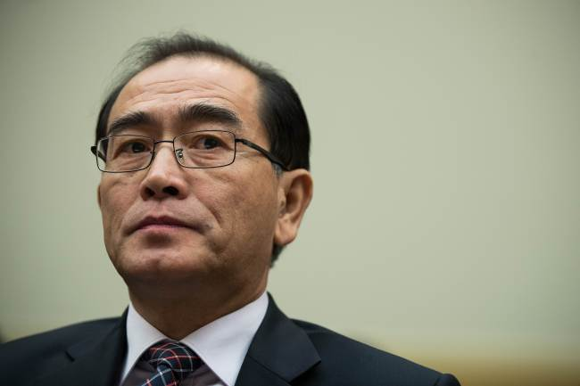 Thae Yong-ho, former deputy chief of the North Korean Embassy in London, defected to South Korea in the summer of 2016. He has since been a fierce critic of the North Korean regime, exposing critical information to the outside world. (Yonhap)