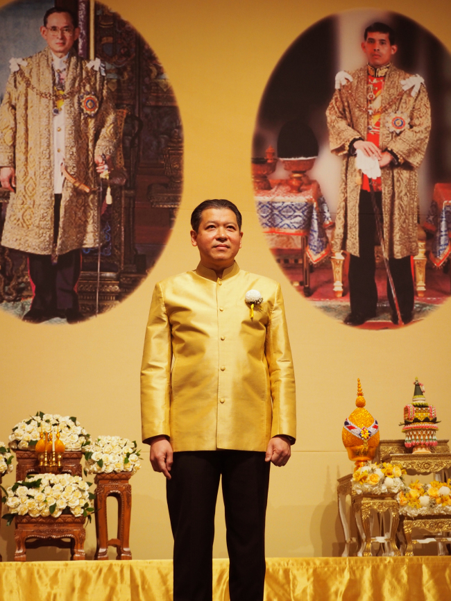 Thai Ambassador to Korea Sarun Charoensuwan (Joel Lee/The Korea Herald)