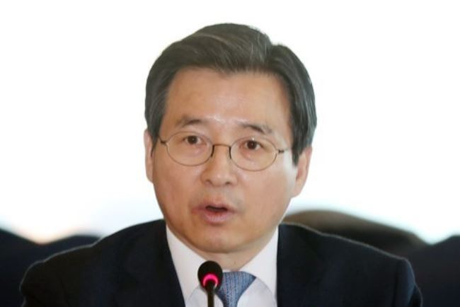 Financial Services Commission Vice Chairman Kim Yong-beom (Yonhap)