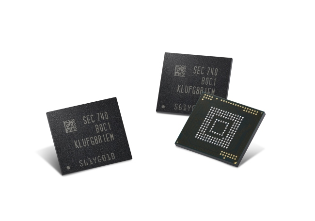 512-GB embedded Universal Flash Storage products (Samsung Electronics)