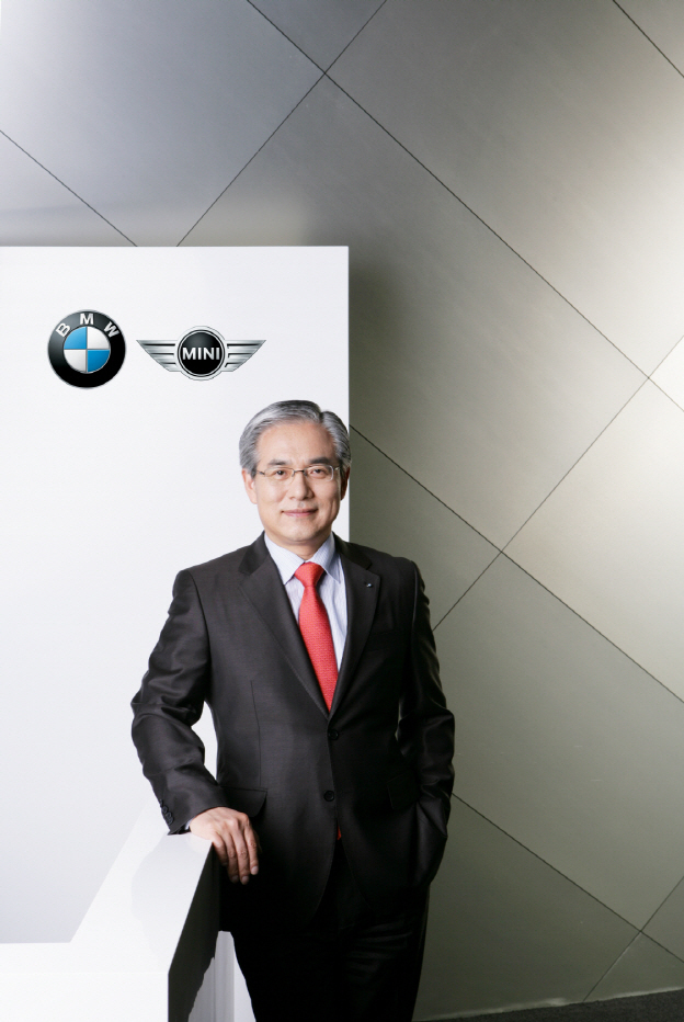 BMW Korea CEO Kim Hyo-joon will take post as chairman and CEO as of early next year. (BMW Korea)