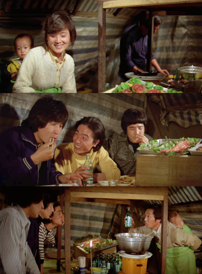 "The 1980 film ""A Fine, Windy Day,"" directed by Lee Jang-ho and featuring Ahn Sung-ki, is one of many Korean movies featuring pojangmacha (""A Fine, Windy Day"")"