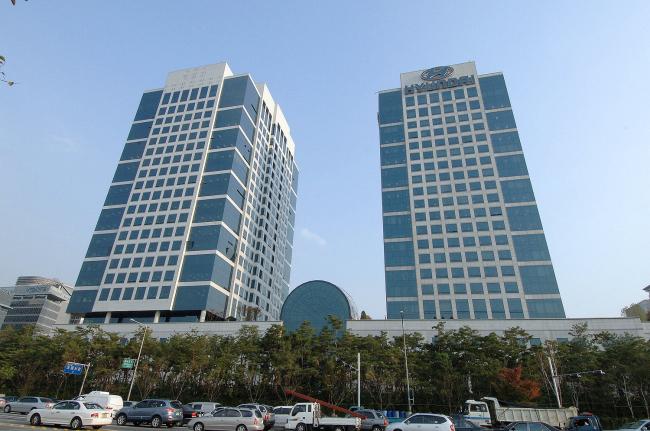 Hyundai and Kia Motors' headquarters in southern Seoul. (Park Hyung-koo/ The Korea Herald)