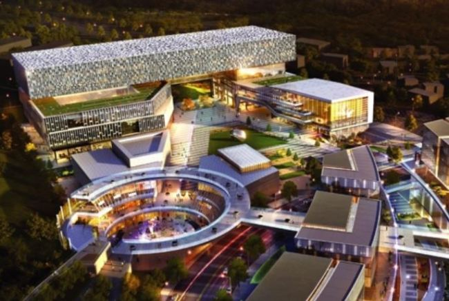 Preliminary layout of the 2nd Pangyo Techno Valley (Yonhap)