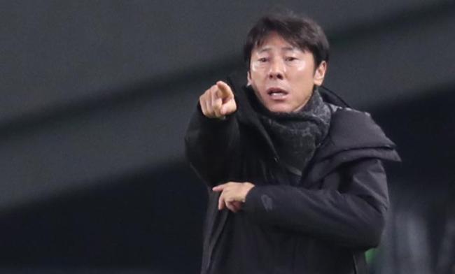 South Korea men's football coach Shin Tae-yong (Yonhap)