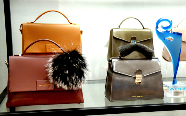 Bags from Alice Martha (Park Hyun-koo/The Korea Herald)
