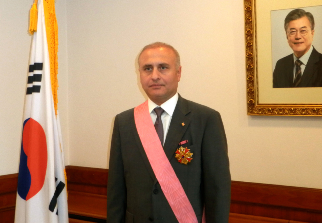 Nikoloz Apkhazava, the Georgian ambassador to Malaysia and former ambassador to Korea from 2012-17 (Georgian Embassy)