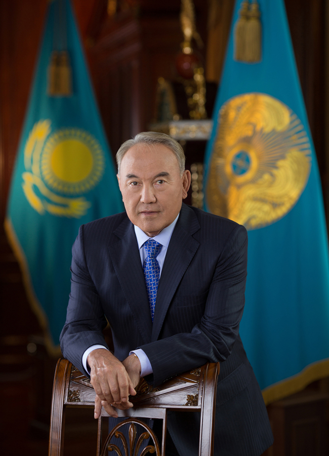 Kazakh President Nursultan Nazarbayev (Office of the President)
