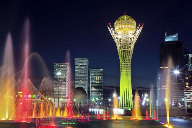 Kazakhstsan's capital Astana (Max Paoli/Getty Images)