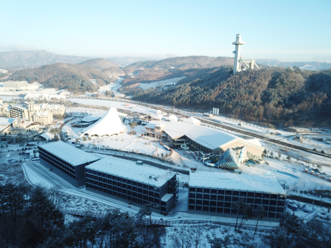 Media residence for PyeongChang Olympics(Posco)
