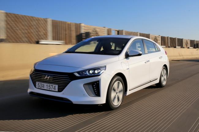 Hyundai Motor's Ioniq PHEV (Hyundai Motor)