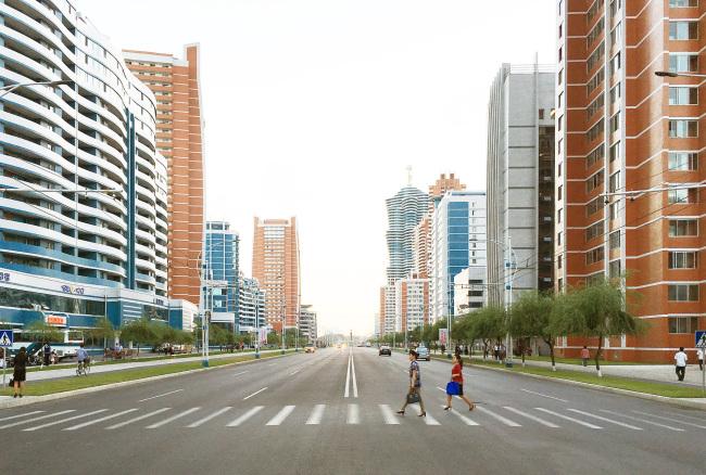 The Future Scientist Avenue in Pyongyang (Calvin Chua)