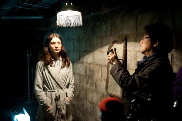 Mia Wasikowska (left) and Park Chan-wook (Fox Searchlight)