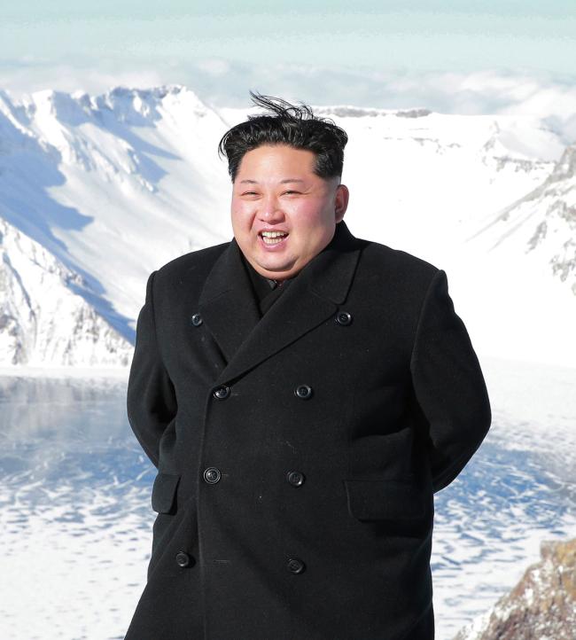 North Korean leader Kim Jong-un (Korea Central News Agency)