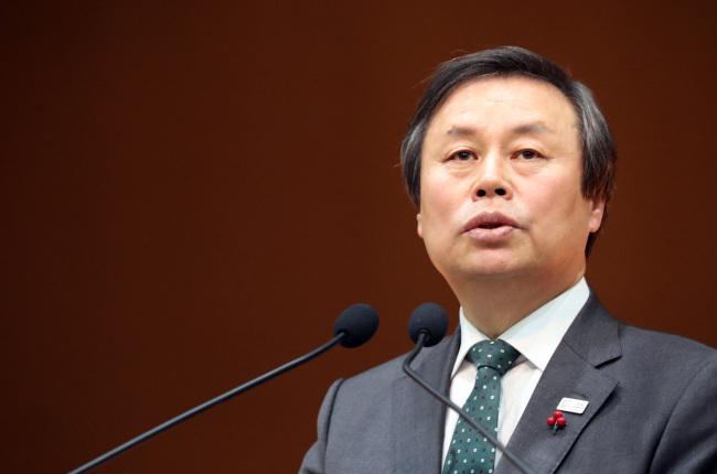 South Korea's Sports Minister Do Jong-hwan (Yonhap)