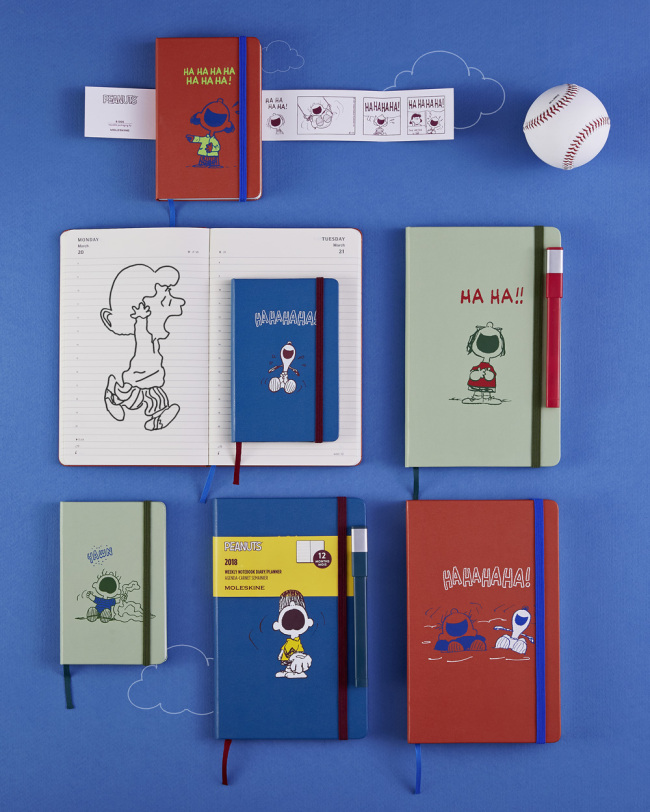 The limited-edition Peanuts planner from Moleskine (Moleskine)