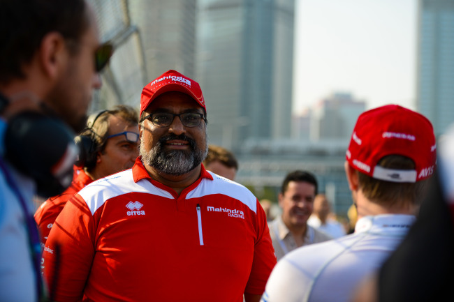 Dilbagh Gill, team principal and CEO of Mahindra Racing, a racing team under Mahindra Group (Mahindra)