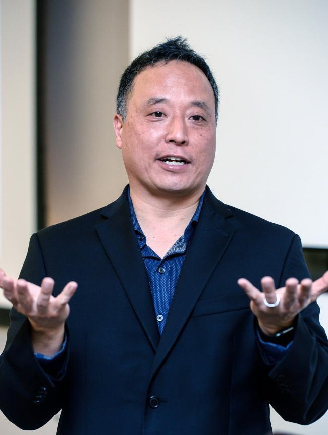John Suh, vice president of Hyundai Cradle (Hyundai Motor)