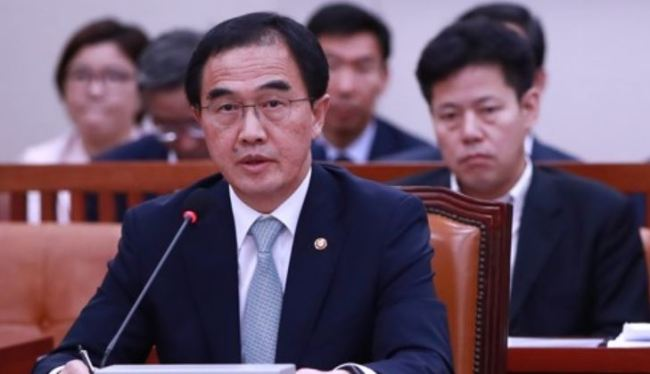 Unification Minister Cho Myoung-gyon. (Yonhap)