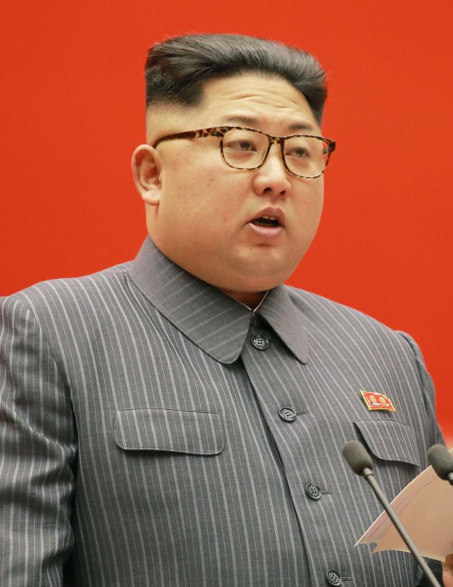North Korean leader Kim Jong-un (AP/Yonhap)