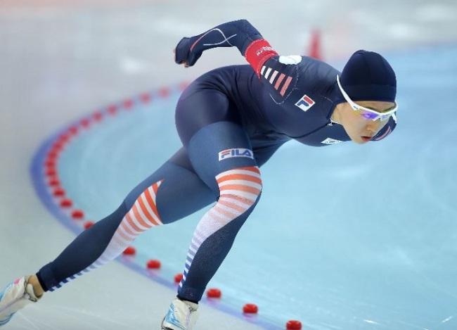 Speed skater Lee Sang-hwa (Yonhap)