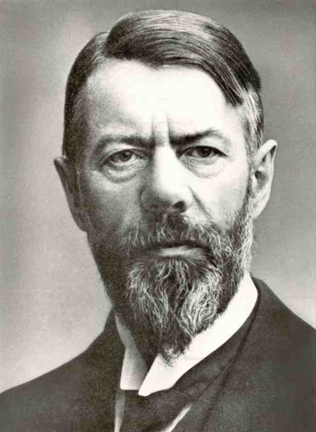 German sociologist Max Weber (Biography Photo)