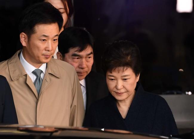 former President Park Geun-hye's defense attorney Yoo Yeong-ha (Yonhap)
