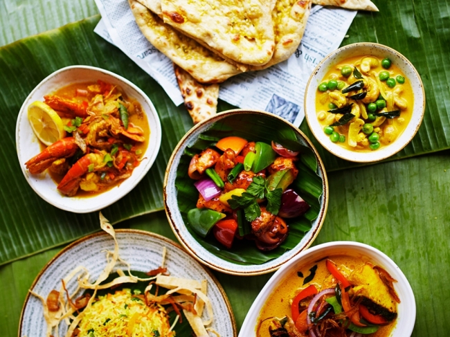 Traditional Sri Lankan dishes (So Hale)