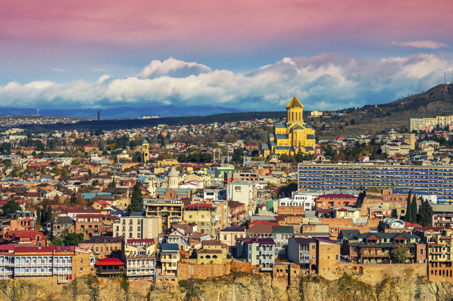 Georgian capital Tbilisi, a city with more than 1,500 years of history, is laden with medieval fortresses, cobbled winding alleys, timeworn, magnificent religious edifices, saunas and spas. (Radisson Blu)