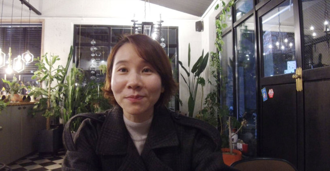 Airbnb host Bang Jin-hee has dreams to become a hotelier. (Lim Jeong-yeo/The Korea Herald)